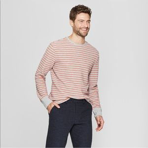 New men's goodfellow & co long sleeve textured top